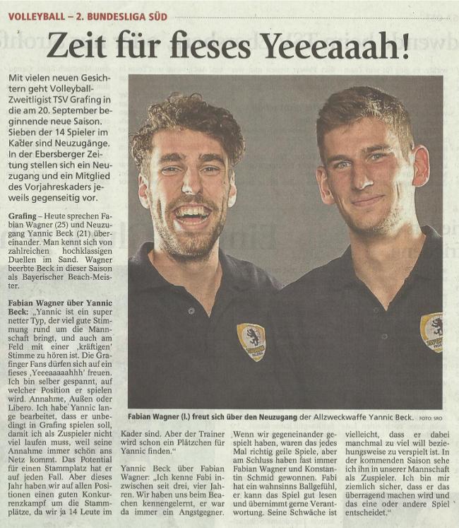 Artikel Ebersberger Zeitung